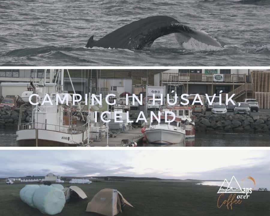 Camping Húsavík Collage