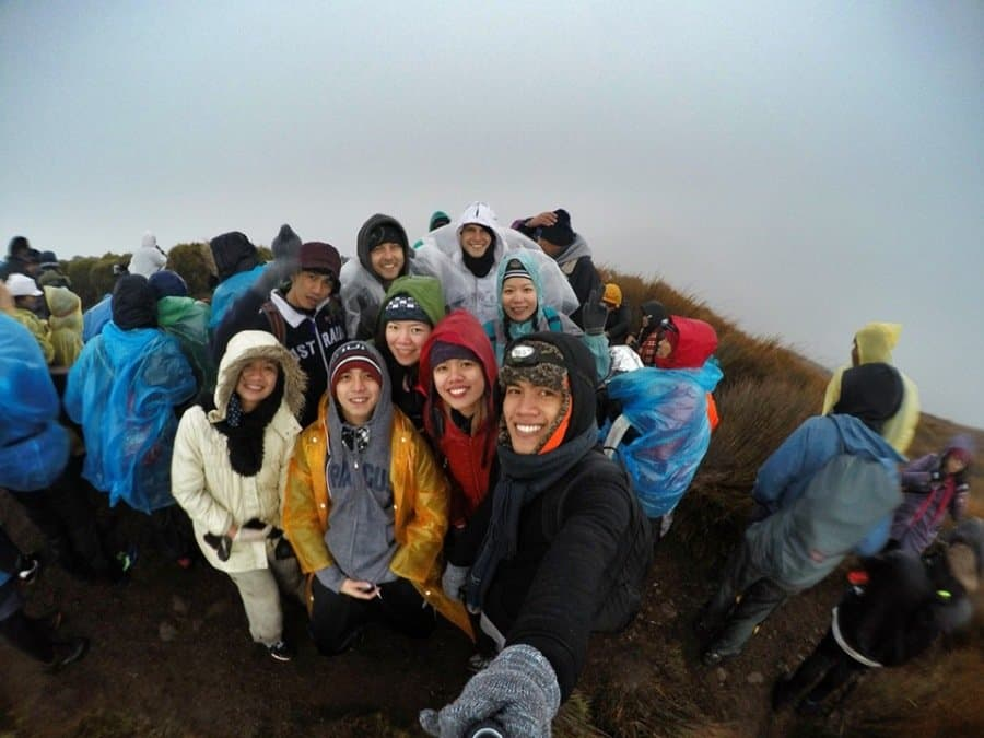 Mt Pulag Peak