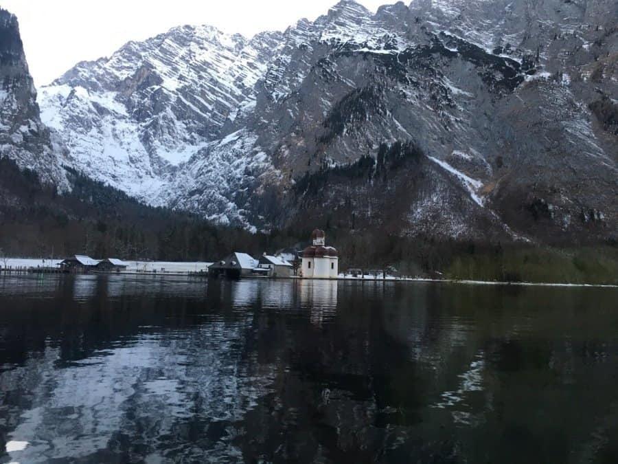 Ice chapel in Berchtesgaden National Park