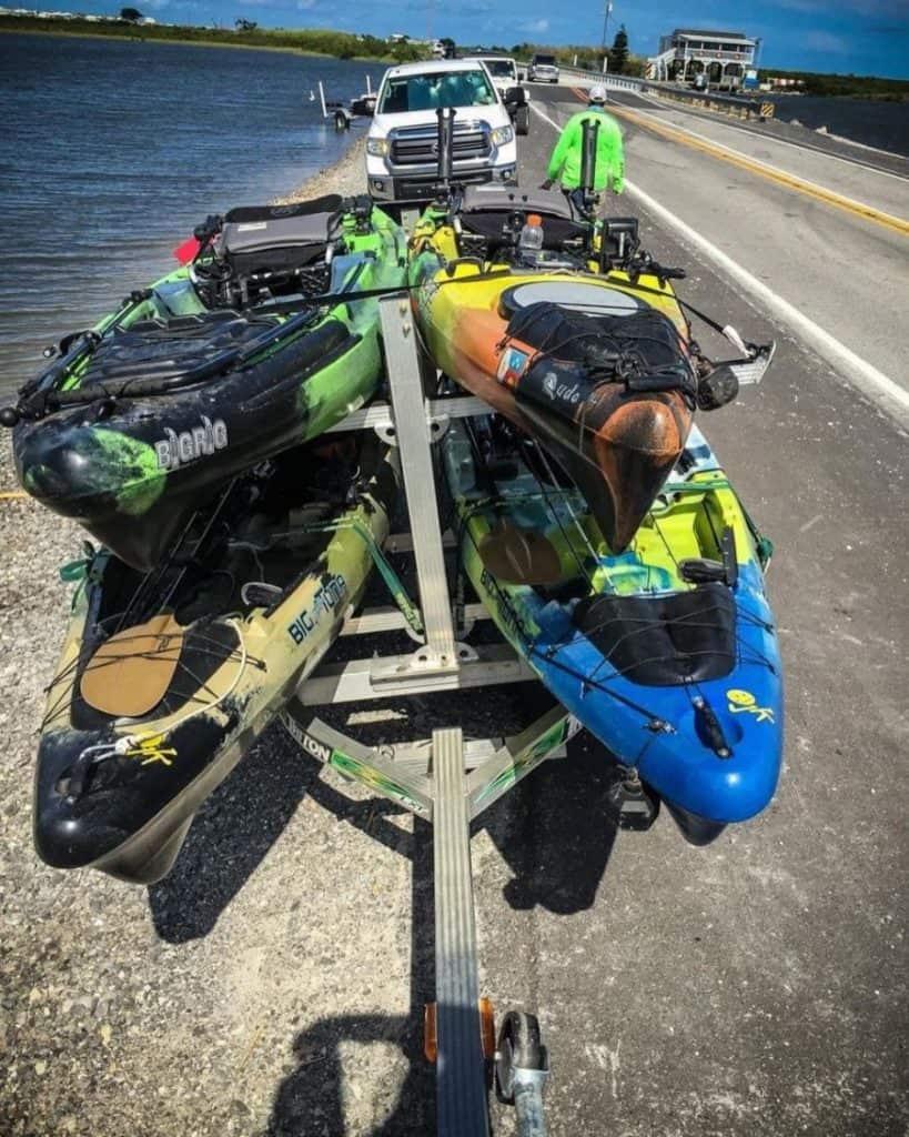 Best Kayak Trailer Credit@packpaddle