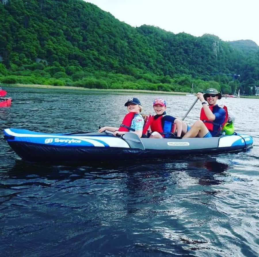 Sevylor Big Basin 3-Person Kayak Credit@Mattredgate