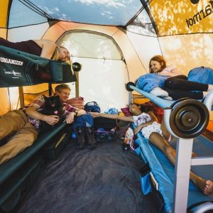 Best Double Camping Cot Credit@discobed